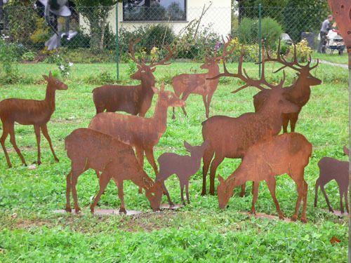 18 best Rost Deko Garten Figuren Edelrost Eisen images on