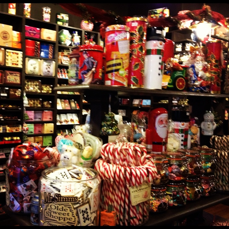 I would be arrested after being in this shop. For eating everything and paying for nothing.