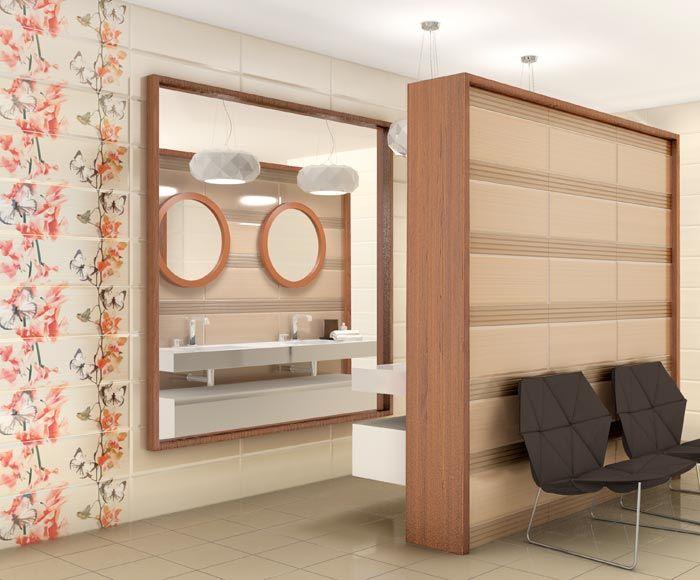 Serenity wall tiles series 25x75 cm. | Bathroom | Arcana Ceramica | baldosas cerámicas | bathroom inspiration | home decor
