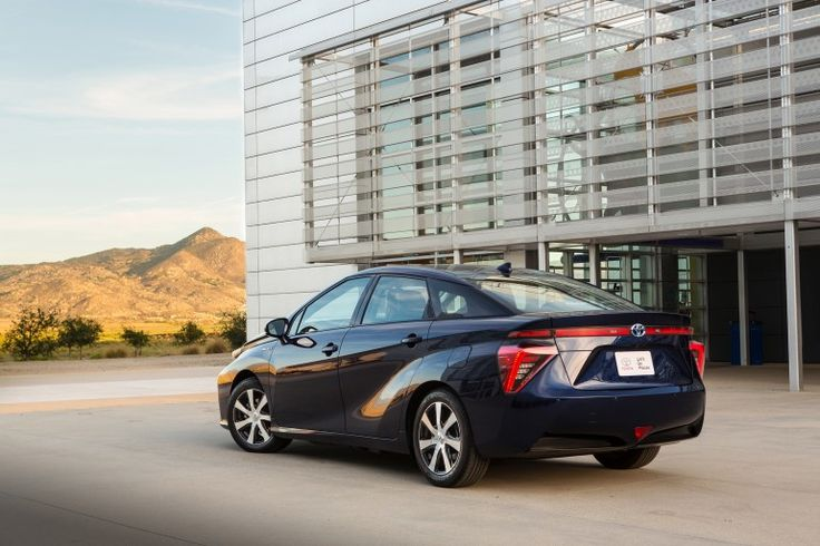 "Toyota launches its Fuel Cell Vehicle as the ""Mirai"" The Toyota Mirai will be available late in 2015"