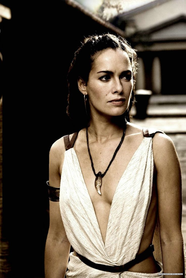 A secret aspiration. You'd have to ask me to explain. Lena Headley, Queen of Sparta, 300