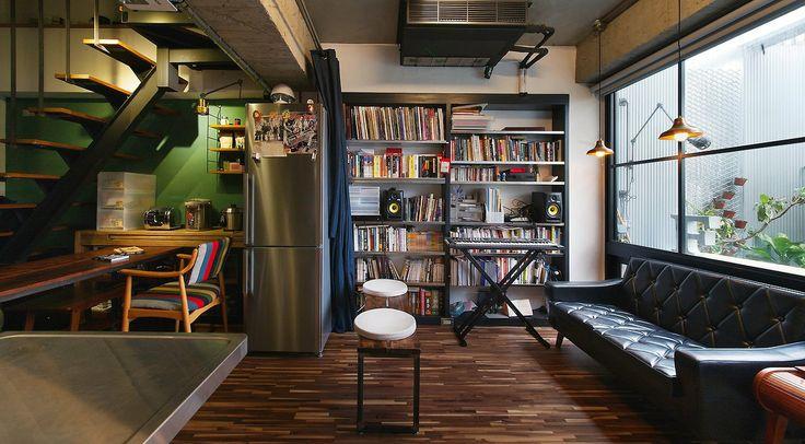 和平東路 輕工業混搭創作環境之間,衝撞出個性化的空間美學。