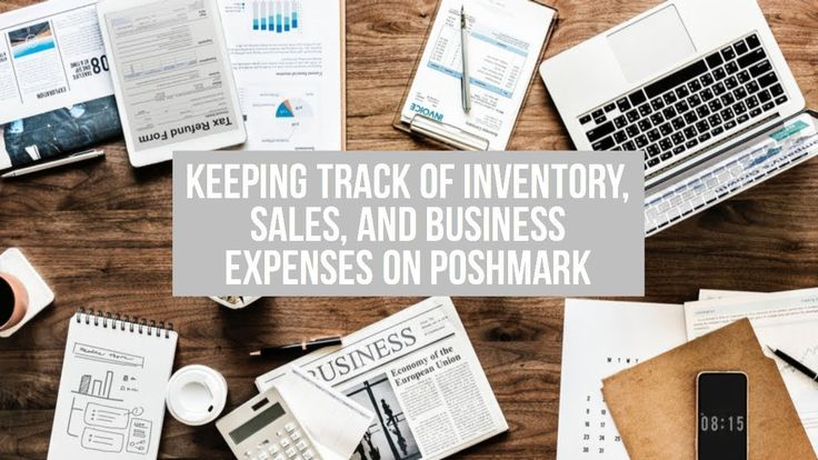 How to keep track of inventory sales and business