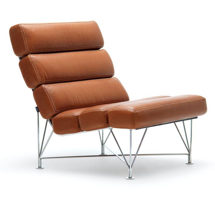 Spider Chair Dakota lær fra DUX. Denne herlige lenestol ble produsert i 1984 og har siden blitt...