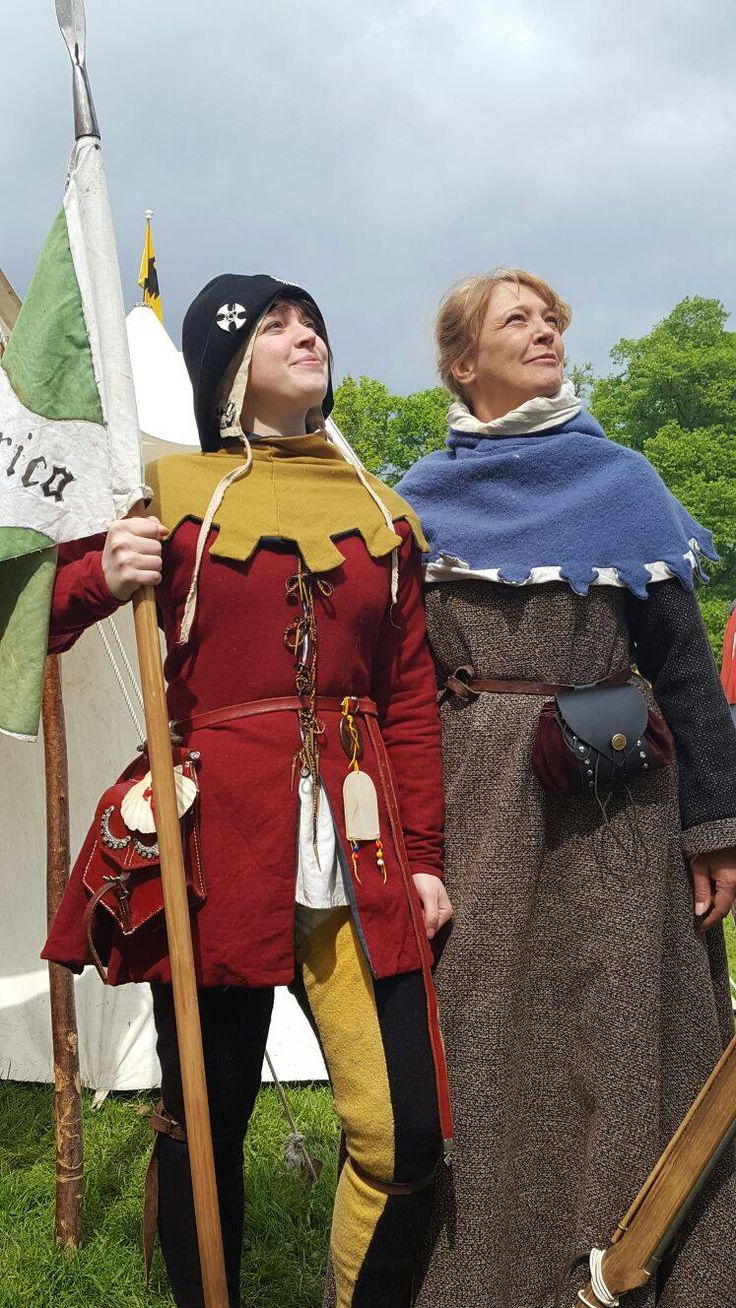 When you and your mother have similar interests taken at a medieval fair at Burg Satzvey