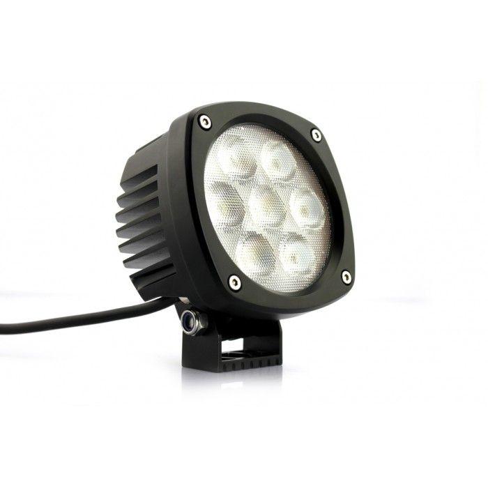 4.3  35w Impulse Round LED Light $89.00 5000 Real Lumen  sc 1 st  Pinterest & 56 best Impulse LED Lights images on Pinterest | Led light bars ... azcodes.com