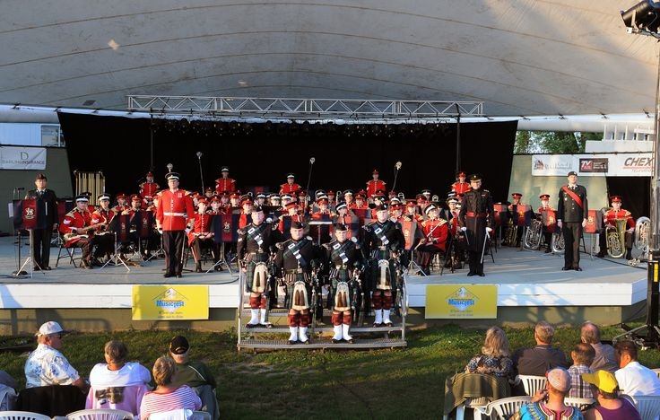 The CAF Ceremonial Guard came all the way from Ottawa to perform for us on August 9, 2014 at Peterborough Musicfest.