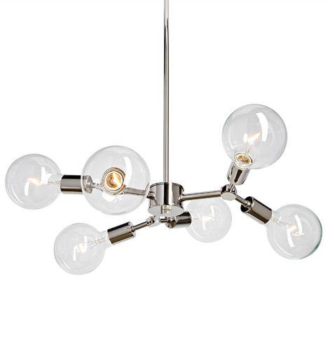 Rejuvenation salem chandelier chandeliers modernliving room lightingpolished