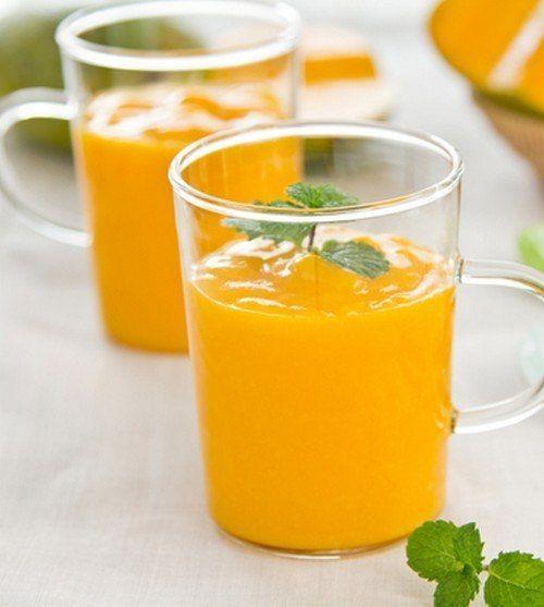 Апельсиново-ореховый смузи