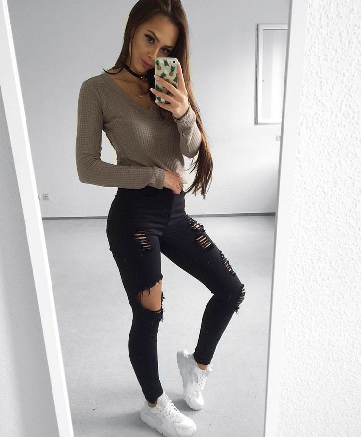 heels jeans outfits pictures
