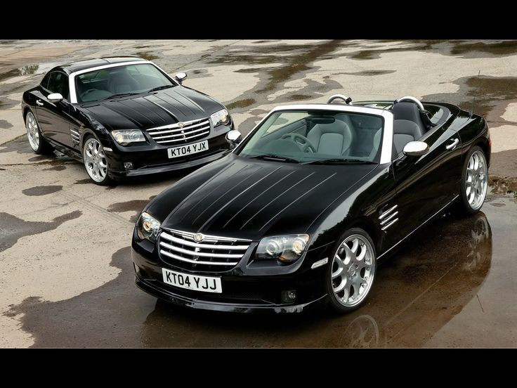 2005 Chrysler Crossfire Coupe and Convertible