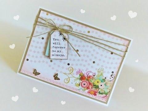 DIY | Tutorial - Cartão para o Dia dos Namorados - FOREVER