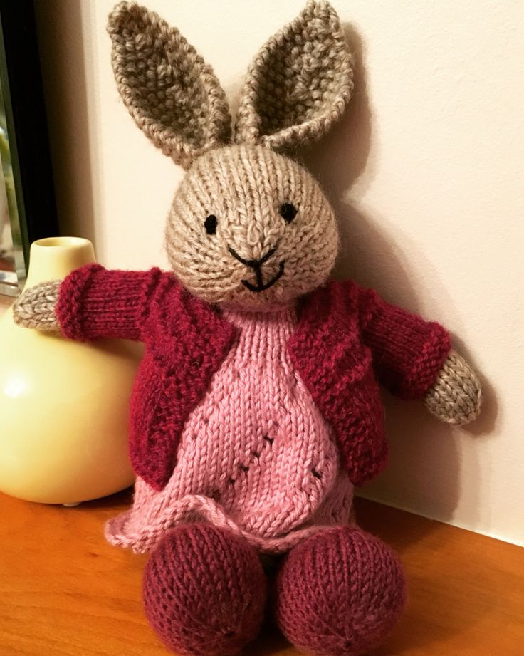 875 best Knitted bunnies images on Pinterest Bunnies ...