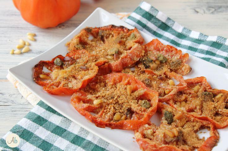 Pomodori Gratinati Acciughe e Pinoli