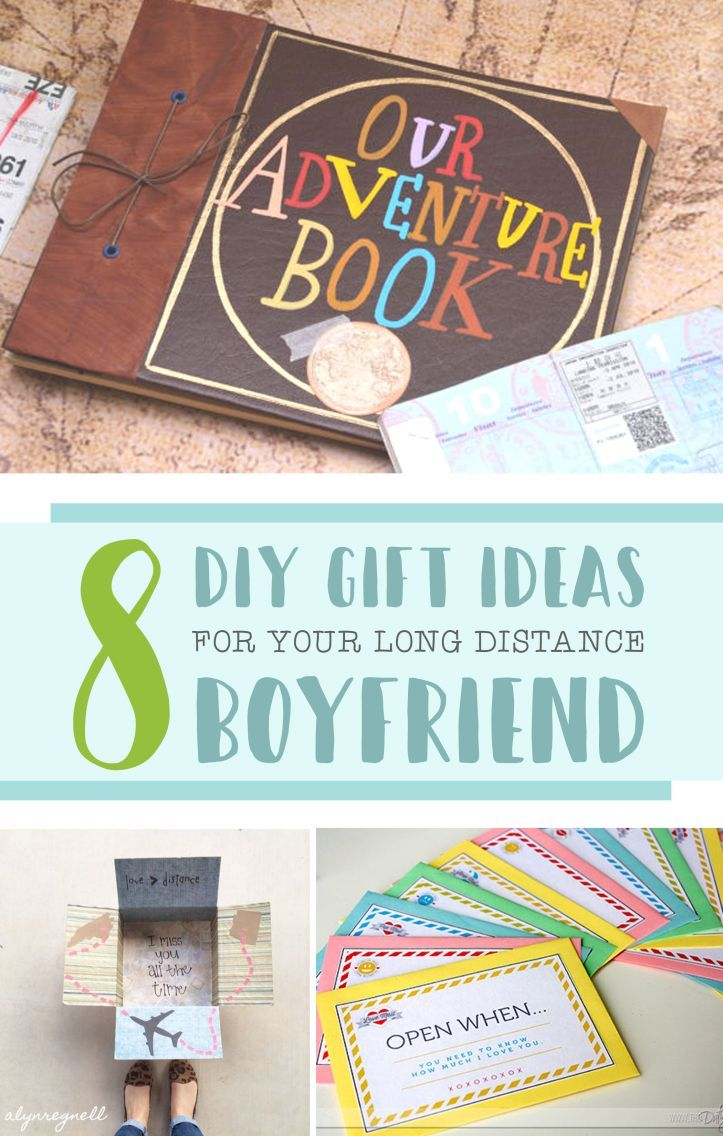 8 DIY Gift Ideas for Your Long Distance Boyfriend  DIY Gifts  Diy gifts for boyfriend