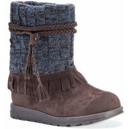 MUK Luks Women's Rihanna Boots, Size: 6, Brown