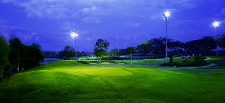 Night Golf at Pakuwon Golf & Family Club