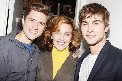Aaron Tveit, Alice Ripley, and Some Moderately Attractive Guy Whose Name I Do Not Know But Who Seems Nice Enough and Who I Think Might Be Affiliated with Aaron Tveit Through Gossip Girl