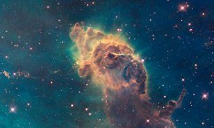A refurbished Hubble Space Telescope has revealed the sharpest photos yet of the beautiful cosmos, complete with heavenly glows.