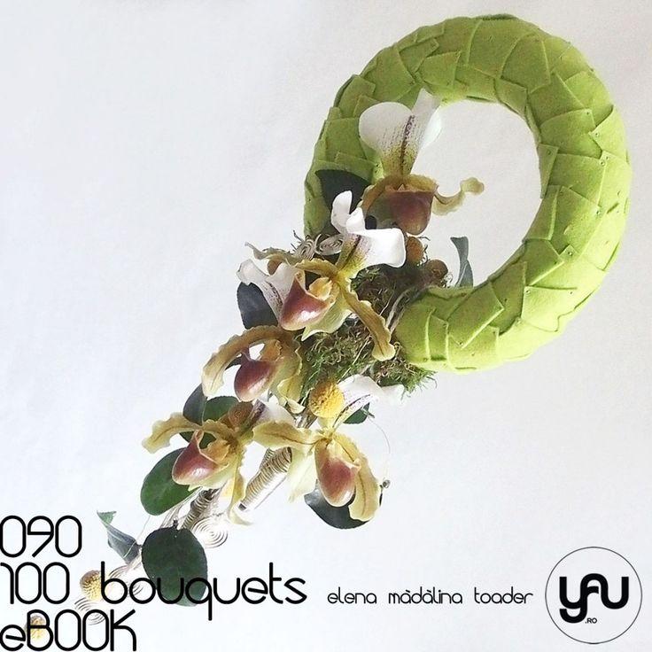 Orhidee PAPHIOPEDILUM #100bouquets #ebook #yauconcept #elenamadalinatoader