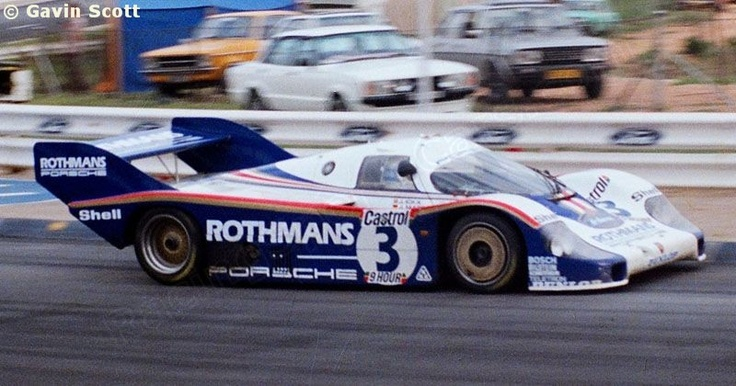 Kyalami 9 Hours 1982Porsche 956 003, Sports Cars, 1982 Porsche, Hour 1982, Porsche 956 962, Ren Porsche, Rothman Team, 956 S, Porsche Heritage