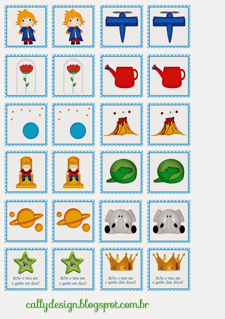 Quebra Cabeça e Jogo da Memória Personalizados para Imprimir - CALLY'S DESIGN-Kits Personalizados Gratuitos