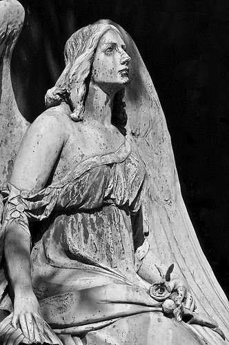 Angel beauty | ... I saw her at the Melaten-Cemetery in Colo… | Flickr