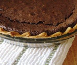 Gluten Free Chocolate Velvet Pie