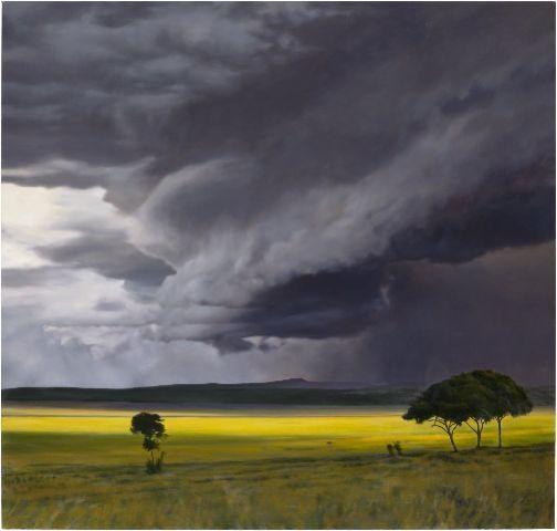 April Gornik, Storm Field, 2008