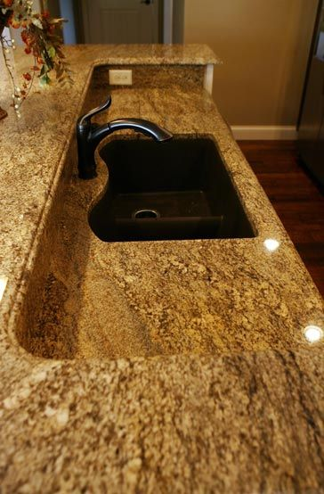 custom granite counter top to compliment your kitchen design - Granite Counter