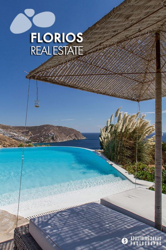 Indulge yourself in this luxurious residence overlooking Agrari beach & enjoy the unobstructed view of the Aegean Sea by the pool! Villa for Sale in Agrari, Mykonos island Greece (6 bedrooms – 6 baths) FL1494 http://www.florios.gr/en/Villas-For-Sale-Mykonos-Island-Greece.html