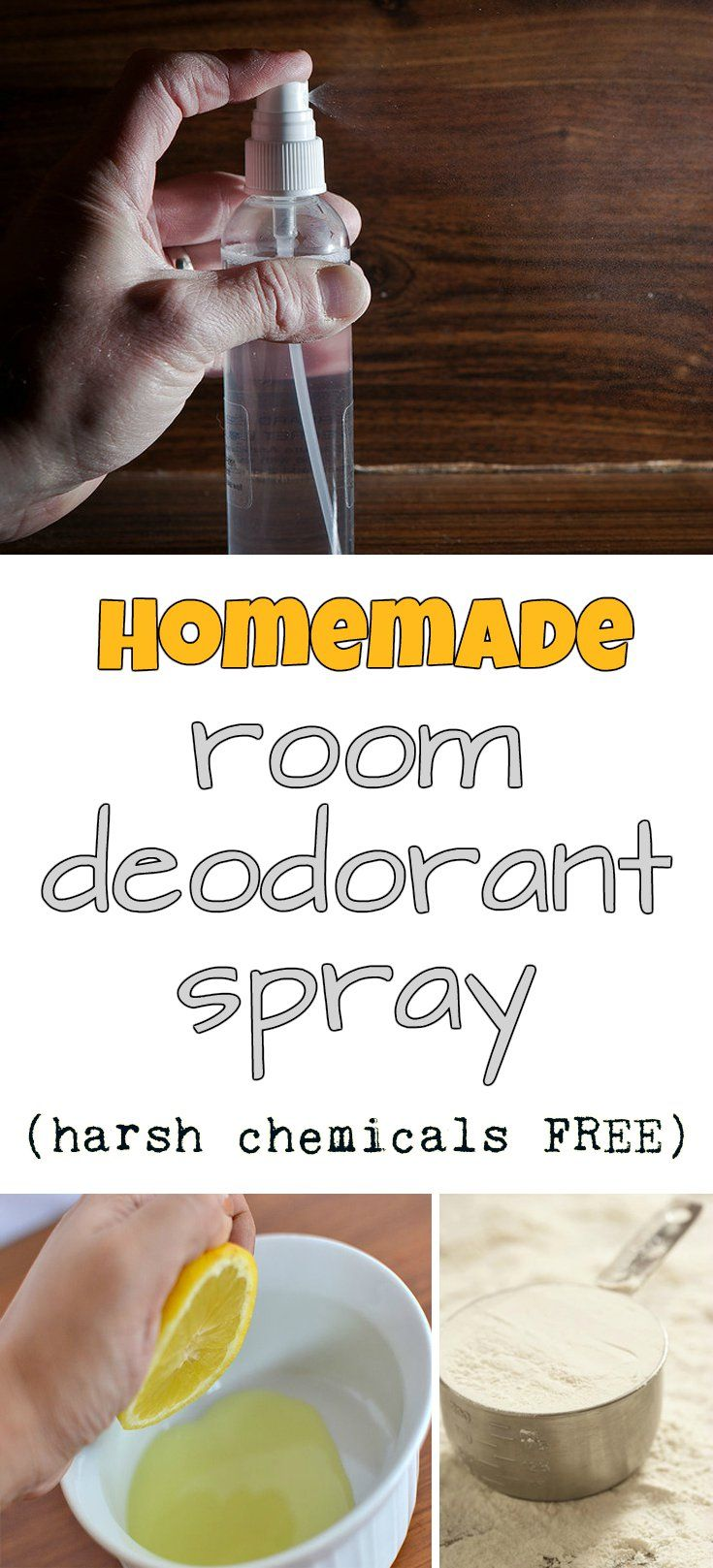 Homemade room deodorant spray (harsh chemicals free) - CleaningDIY.net