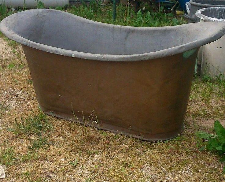 1000 id es sur le th me baignoire de cuivre sur pinterest baignoires cuivre et baignoires. Black Bedroom Furniture Sets. Home Design Ideas