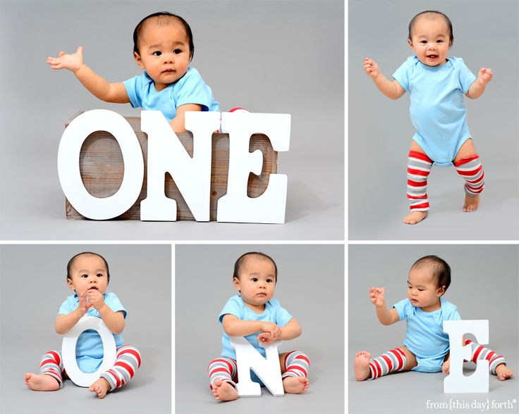 One Year Old Wooden Letters 1 Year Old Photography