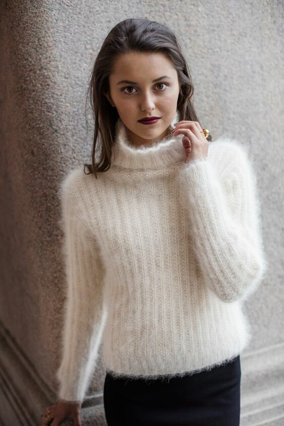 1426 best angora images on Pinterest | Pullover, Knit fashion and ...