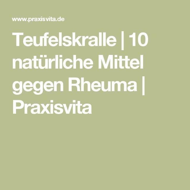 Teufelskralle   10 natürliche Mittel gegen Rheuma   Praxisvita