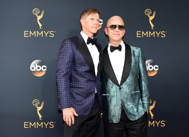 Hollywood Couples Raked In Some Cute Moments at the Emmys Ryan Murphy and David Miller