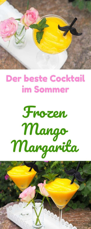 Ein Frozen Mango Margarita ist einer meiner liebsten Cocktails. Besonders im Sommer eine tolle Erfrischung. Im Mixer oder Thermomix sehr schnell hergestellt. LECKER!!