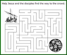 Large variety of Bible word puzzles and activity sheets to choose from. Click on Coloring Pages tab to switch from English to Spanish menu.
