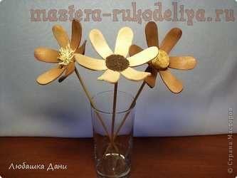 Мастер-класс по декорированию: Деревянные цветы