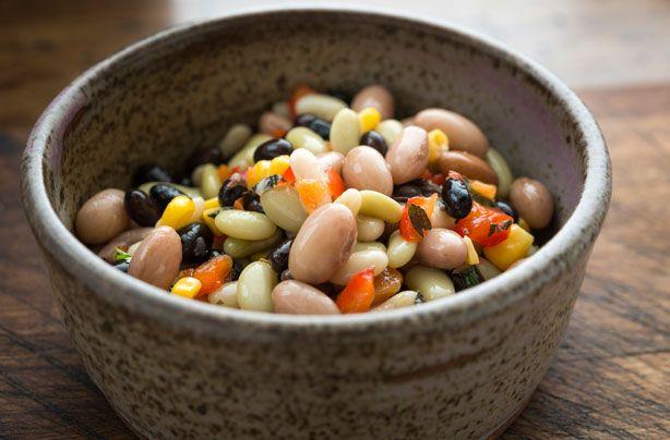 Mixed bean salad recipe - goodtoknow