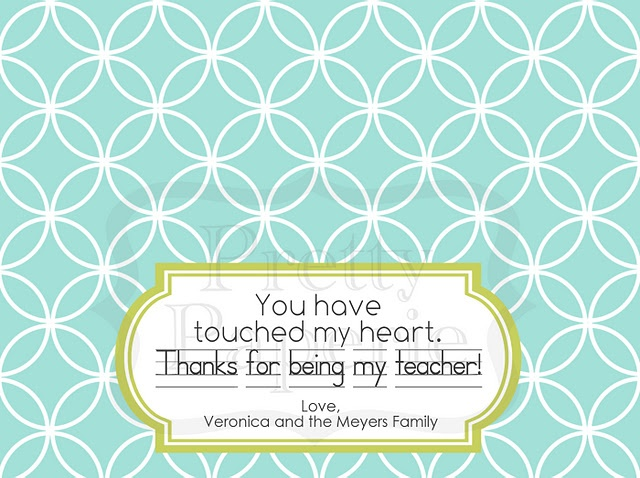 Perfect valentine for teachers!