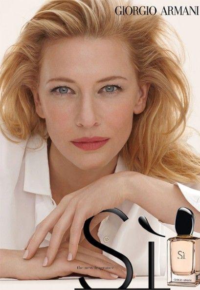 Cate Blanchett Stuns in Her $10 Million Armani Fragrance Campaign