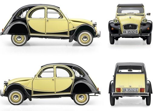 "Citröen 2cv the germans lovingly called it ""the duck"""