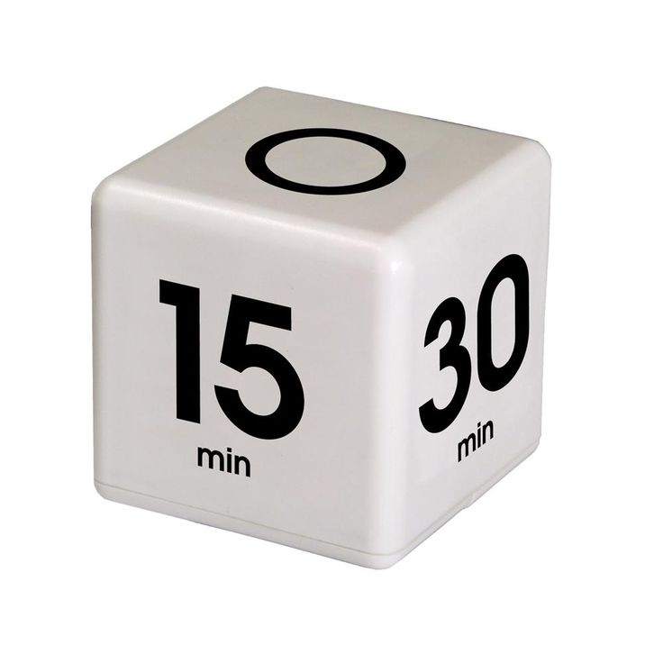 Time Cube 5-15-30-60 Minute Preset Timer