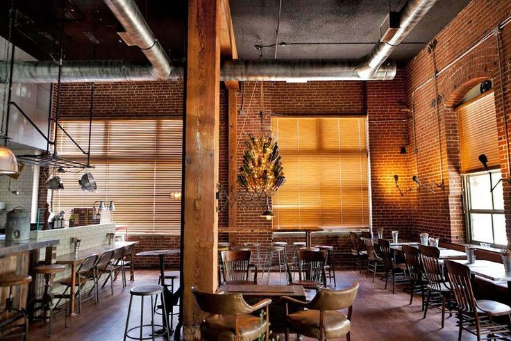 Elizabeth Daniels 5/12  Well. It doesn't much look like Café Metropol anymore. Here now another new industrial rustic number showing exposed brick, an unfinished ceiling, and more than enough...