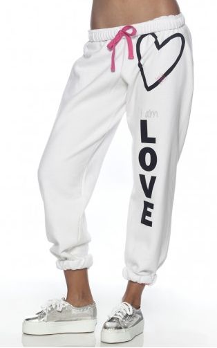 Peace Love World Sweatpants