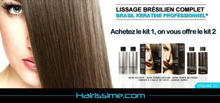 Avec le code promo SOLDES -20%sur l'offre kit lissage brésilien + kit entretien, soit 55,20€ au lieu de 69€. Attention offre limitée valble sur hairissime.com