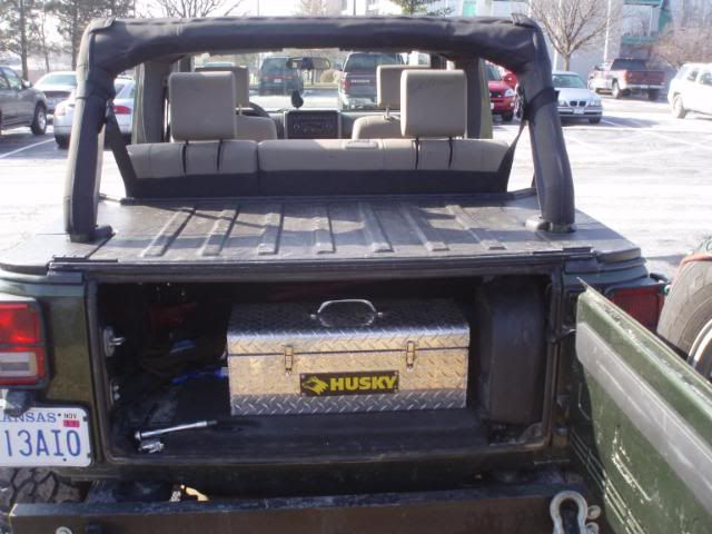 Jku Fiberglass Deck Lid Security Enclosure Jkowners