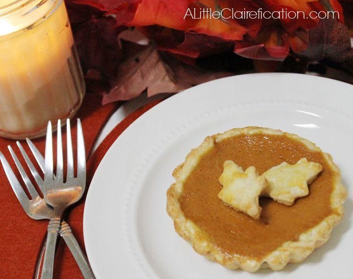 Easy Pumpkin Tarts #recipes #Pumpkin